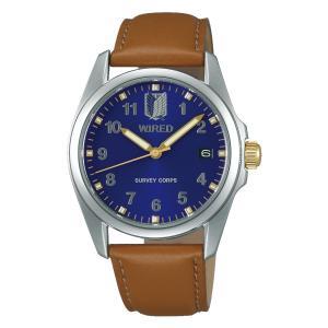 セイコー ワイアード AGAK701 メンズ 腕時計 進撃の巨人 エレン シグネチャー 限定モデル SEIKO WIRED 電池式 クオーツ 新品|oomoritokeiten