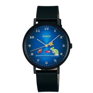 セイコー ワイアード AGAK706 メンズ 腕時計 スーパーマリオブラザーズ コラボ 1200本 限定モデル SEIKO 電池式 クオーツ 新品|oomoritokeiten