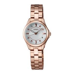 セイコー ワイアード エフ AGEK439 レディース 腕時計 ピンクゴールド SEIKO WIRED f 電池式 クオーツ 新品|oomoritokeiten