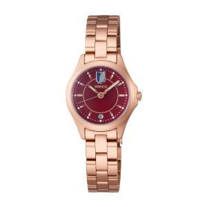 セイコー ワイアード AGEK740 レディース 腕時計 SEIKO WIRED 進撃の巨人 限定モデル ミカサ 電池式 クオーツ 新品|oomoritokeiten