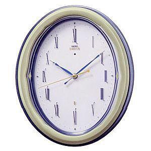 セイコー エムブレム HS511M 木枠 電波掛時計 新品|oomoritokeiten
