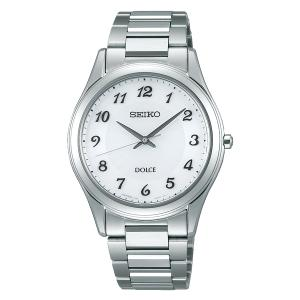セイコー ドルチェ SADL013 メンズ 腕時計 コンフォテックス ダイヤシールド SEIKO ソーラー時計 新品|oomoritokeiten