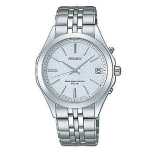 セイコー ドルチェ SADZ063 メンズ 腕時計 ブライトチタン ダイヤシールド SEIKO ソーラー電波時計 新品|oomoritokeiten