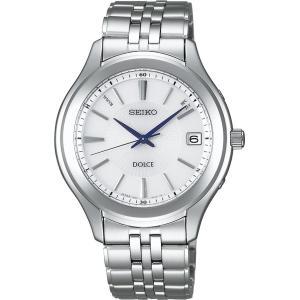 セイコー ドルチェ SADZ081 メンズ 腕時計 ワールドタイム ダイヤシールド SEIKO ソーラー電波時計 新品|oomoritokeiten