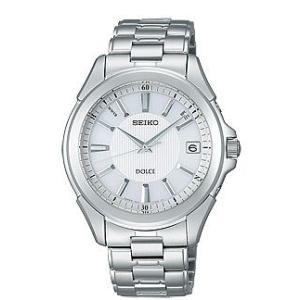 セイコー ドルチェ SADZ087 メンズ 腕時計 コンフォテックス チタン SEIKO ソーラー電波時計 新品|oomoritokeiten