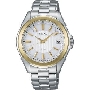 セイコー ドルチェ SADZ088 メンズ 腕時計 ワールドタイム コンフォテックス チタン SEIKO ソーラー電波時計 新品|oomoritokeiten