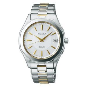 セイコー ドルチェ SADZ099 メンズ 腕時計 SEIKO ソーラー電波時計 新品|oomoritokeiten