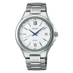 セイコー ドルチェ SADZ133 メンズ 腕時計 コンフォテックス チタン SEIKO ソーラー電波時計 新品|oomoritokeiten
