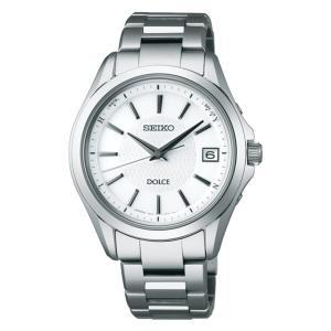 セイコー ドルチェ SADZ175 メンズ 腕時計 コンフォテックス チタン SEIKO ソーラー電波時計 新品|oomoritokeiten