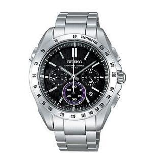 セイコー ブライツ SAGA075 メンズ 腕時計 クロノグラフ SEIKO ソーラー電波時計 新品|oomoritokeiten