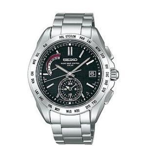 セイコー ブライツ SAGA087 メンズ 腕時計 ワールドタイム SEIKO ソーラー電波時計 新品 oomoritokeiten