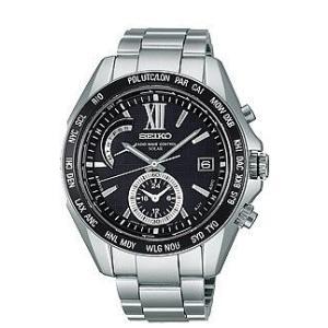 セイコー ブライツ SAGA099 メンズ 腕時計 SEIKO ソーラー電波時計 ワールドタイム 新品|oomoritokeiten