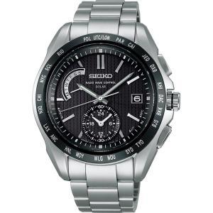 セイコー ブライツ SAGA131 メンズ 腕時計 ワールドタイム SEIKO ソーラー電波時計 新品 oomoritokeiten