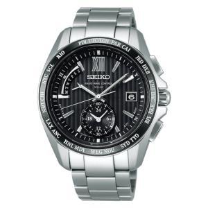 セイコー ブライツ SAGA145 メンズ 腕時計 ワールドタイム コンフォテックス SEIKO ソーラー電波時計 新品|oomoritokeiten
