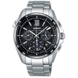 セイコー ブライツ SAGA153 メンズ 腕時計 クロノグラフ コンフォテックス SEIKO ソーラー電波時計 新品|oomoritokeiten