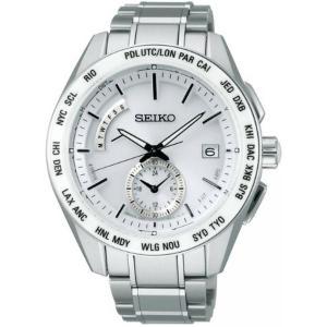 セイコー ブライツ SAGA165 メンズ 腕時計 ワールドタイム コンフォテックス SEIKO ソーラー電波時計 新品 oomoritokeiten