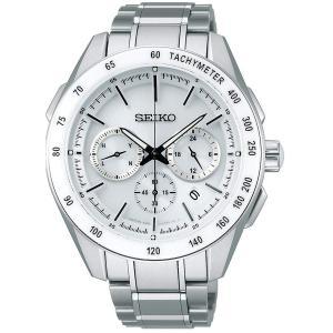 セイコー ブライツ SAGA169 メンズ 腕時計 クロノグラフ コンフォテックス SEIKO ソーラー電波時計 新品 oomoritokeiten