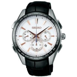 セイコー ブライツ SAGA217 メンズ 腕時計 クロノグラフ チタン フライト エキスパート SEIKO ソーラー電波時計 新品|oomoritokeiten