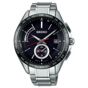 セイコー ブライツ SAGA241 メンズ 腕時計 フライトエキスパート デュアルタイム コンフォテックス チタン SEIKO ソーラー電波時計 新品 oomoritokeiten