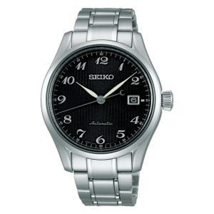 セイコー プレザージュ SARX039 メンズ 腕時計 シースルーバック 黒文字盤 SEIKO メカニカル 自動巻 新品 oomoritokeiten