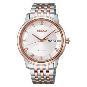 セイコー プレザージュ SARY062 メンズ 腕時計 シースルーバック ピンクゴールド SEIKO メカニカル 自動巻 新品 oomoritokeiten