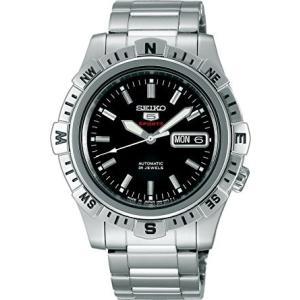 セイコー メカニカル SARZ001 メンズ 腕時計 シースルーバック SEIKO ファイブスポーツ 自動巻 新品|oomoritokeiten
