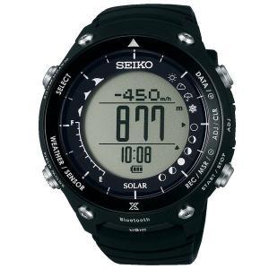 セイコー プロスペックス SBEM003 メンズ 腕時計 ランドトレーサー Bluetooth 通信...