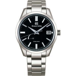 グランドセイコー スプリングドライブ SBGA349 メンズ 腕時計 ブライトチタン SEIKO 正規品 新品|oomoritokeiten