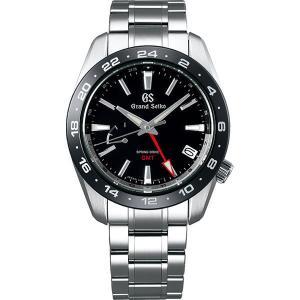 グランドセイコー スプリングドライブ SBGE253 ブラック ジルコニア・セラミックス GMT メンズ 腕時計 SEIKO 正規品 新品|oomoritokeiten