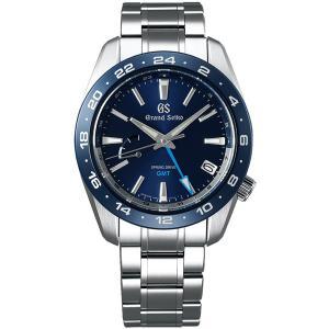 グランドセイコー スプリングドライブ SBGE255 ブルー ジルコニア・セラミックス GMT メンズ 腕時計 SEIKO 正規品 新品|oomoritokeiten