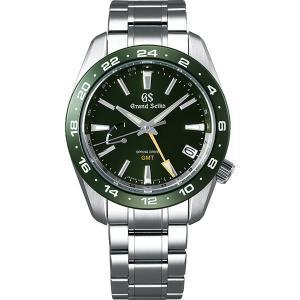 グランドセイコー スプリングドライブ SBGE257 グリーン ジルコニア・セラミックス GMT メンズ 腕時計 SEIKO 正規品 新品|oomoritokeiten