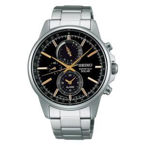 セイコー スピリット SBPJ007 メンズ 腕時計 アラーム クロノグラフ SEIKO ソーラー時計 新品|oomoritokeiten