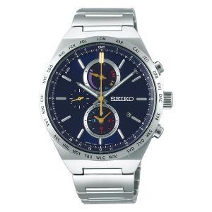 セイコー セレクション SBPJ041 メンズ 腕時計 2020 サマー限定モデル ソーラー クロノグラフ 数量限定 600本 SEIKO 新品|oomoritokeiten
