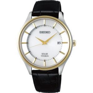 セイコー セレクション SBPX104 メンズ 腕時計 牛皮革バンド SEIKO ソーラー時計 新品|oomoritokeiten