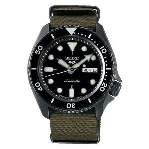 セイコー 5 スポーツ SBSA023 メンズ 腕時計 ナイロン SEIKO ファイブスポーツ メイドインジャパン 自動巻 新品 oomoritokeiten