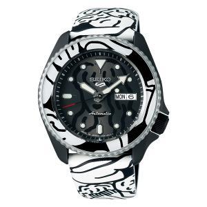 セイコー 5 スポーツ SBSA123 メンズ 腕時計 オートモアイ コラボレーション 限定モデル SEIKO ファイブスポーツ メイドインジャパン 自動巻 新品 oomoritokeiten