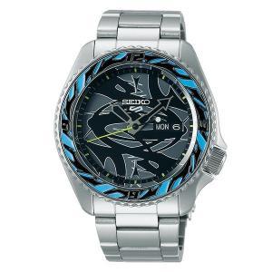 セイコー 5 スポーツ SBSA135 メンズ 腕時計 Seiko 5 Sports × GUCCIMAZE Collaboration Limited Edition 数量限定 1500本 メイドインジャパン 自動巻 新品 oomoritokeiten