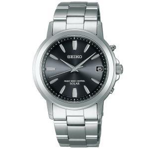セイコー セレクション SBTM169 メンズ 腕時計 10気圧防水 黒文字盤 SEIKO ソーラー電波時計 新品|oomoritokeiten