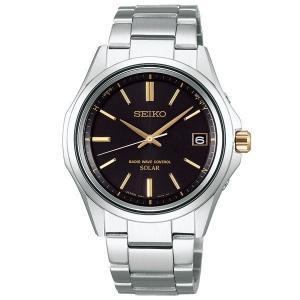 セイコー セレクション SBTM243 メンズ 腕時計 10気圧防水 黒文字盤 SEIKO ソーラー電波時計 新品|oomoritokeiten