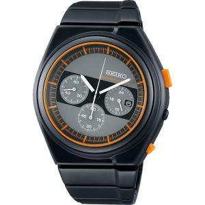 セイコー スピリット SCED053 メンズ 腕時計 ジウジアーロ・デザイン 限定モデル クロノグラフ オレンジ SEIKO 電池式 クオーツ 新品|oomoritokeiten