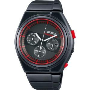 セイコー スピリット SCED055 メンズ 腕時計 ジウジアーロ・デザイン 限定モデル クロノグラフ レッド SEIKO 電池式 クオーツ 新品|oomoritokeiten