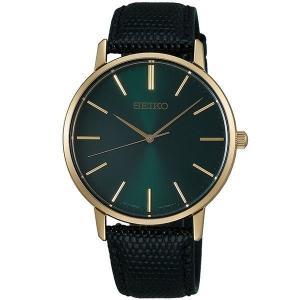 セイコー セレクション SCXP074 メンズ 腕時計 ゴールド フェザー 復刻モデル イエローゴールド SEIKO 電池式 クオーツ 新品|oomoritokeiten