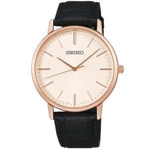 セイコー セレクション SCXP076 メンズ 腕時計 ゴールド フェザー 復刻モデル ピンクゴールド SEIKO 電池式 クオーツ 新品|oomoritokeiten
