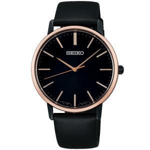 セイコー セレクション SCXP078 メンズ 腕時計 ゴールド フェザー 復刻モデル ピンクゴールド SEIKO 電池式 クオーツ 新品|oomoritokeiten