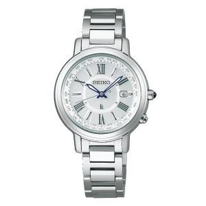 セイコー ルキア レディース 腕時計 SSQV025 コンフォテックス チタン SEIKO ソーラー電波時計 新品|oomoritokeiten