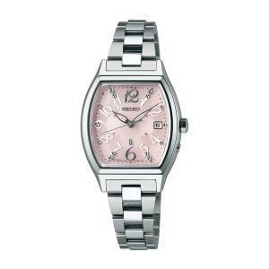 セイコー ルキア レディース 腕時計 SSQW019 コンフォテックス チタン SEIKO ソーラー電波時計 新品|oomoritokeiten