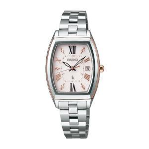 セイコー ルキア レディース 腕時計 SSQW032 コンフォテックス チタン SEIKO ソーラー電波時計 新品|oomoritokeiten