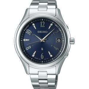 セイコー ルキア SSVH019 メンズ 腕時計 エターナルブルー ペア 2017 限定モデル SEIKO ソーラー電波時計 新品|oomoritokeiten