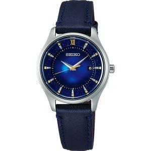 セイコー セレクション STPX081 レディース 腕時計 2020 エターナルブルー 限定モデル 牛皮革バンド ネイビーブルー SEIKO ソーラー時計 新品|oomoritokeiten