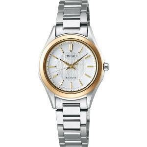 セイコー エクセリーヌ SWCP008 レディース 腕時計 コンフォテックス チタン SEIKO ソーラー時計 新品|oomoritokeiten